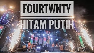 Download Lagu FOURTWNTY - HITAM PUTIH | Live From Authenticity Fest - Palembang 2018 mp3