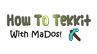 Tekkit - How to make and use a Macerator and Rotary Macerator