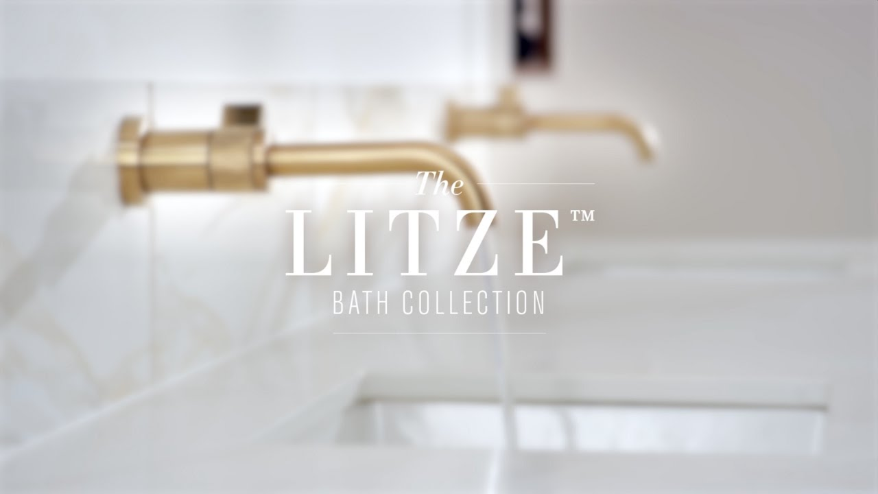 The Litze Bath Collection by Brizo - YouTube