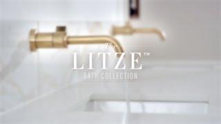 The Litze Bath Collection by Brizo