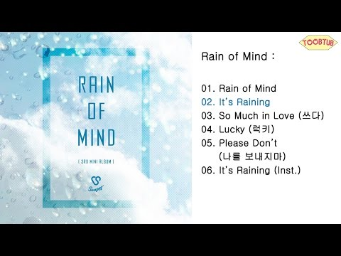 [Full Album] Snuper (스누퍼) - Rain of Mind [3rd Mini Album]