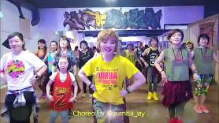David Bisbal, Greeicy - Perdón  Jay Choreography  Zumba Korea Tv