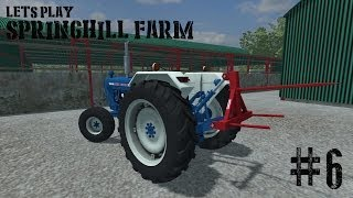 Farming Simulator 2013 - Springhill Farm - Ep 6(A lets play on the spring hill map for farming simulator 2013 This map is by ni modding and is an Irish based map with cow and silage in mind some of the mods i ..., 2013-07-20T19:59:04.000Z)