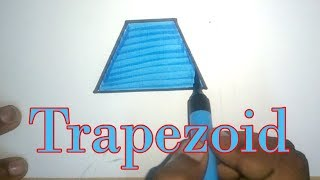 How to Draw a Trapezoid | Learn Shapes | How to draw Shapes for kids