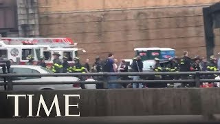 Lincoln Tunnel Buses Collide: At Least 32 Injured | TIME