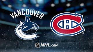 Монреаль - Ванкувер. Прогнозы на НХЛ. Прогнозы на спорт. Прогнозы на хоккей. Ставки на НХЛ