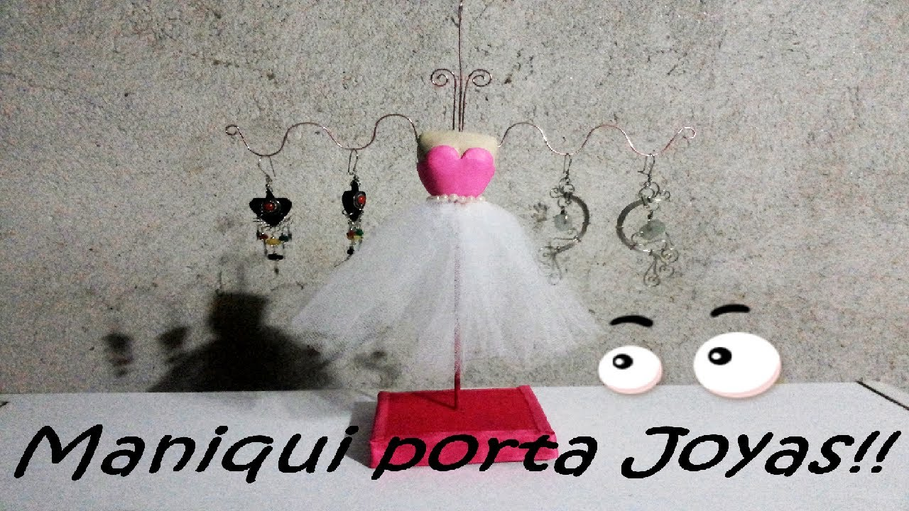 Maniqui porta joyas  YouTube