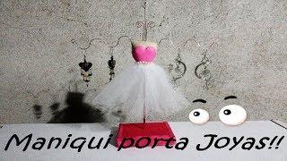Maniqui porta joyas