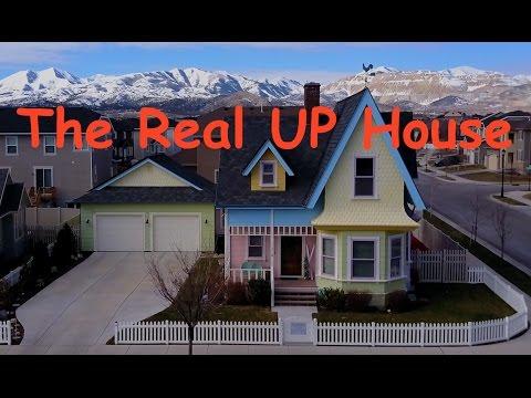 The Real Up House in Herriman Utah