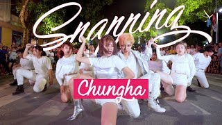 [KPOP IN PUBLIC] Snapping - CHUNGHA dance cover by 17U from Vietnam