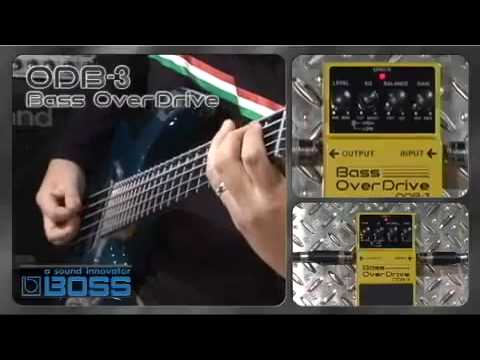 Boss ODB-3 Bass Overdrive Pedal - Nevada Music UK