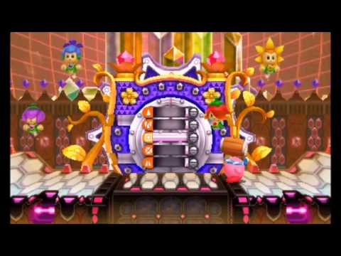 Kirby: Triple Deluxe - 100% Walkthrough - Royal Road Level 5 (All Sun Stones and Gold Keyring)