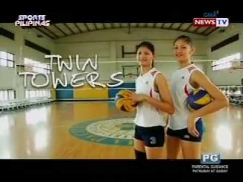 "Kilalanin ang ""Twin Towers"" ng NU Lady Bulldogs volleyball team - ang Santiago sisters"