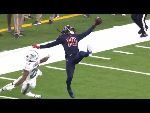 DeAndre Hopkins UNREAL One-Handed Catch That Didn't Count | NFL Highlights