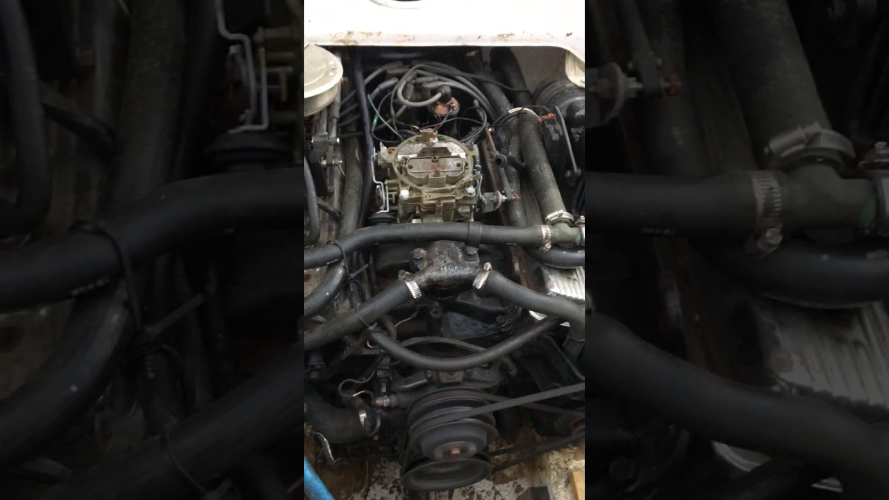 Engine noise - Mercruiser V8 5 7L    What is this SOUND