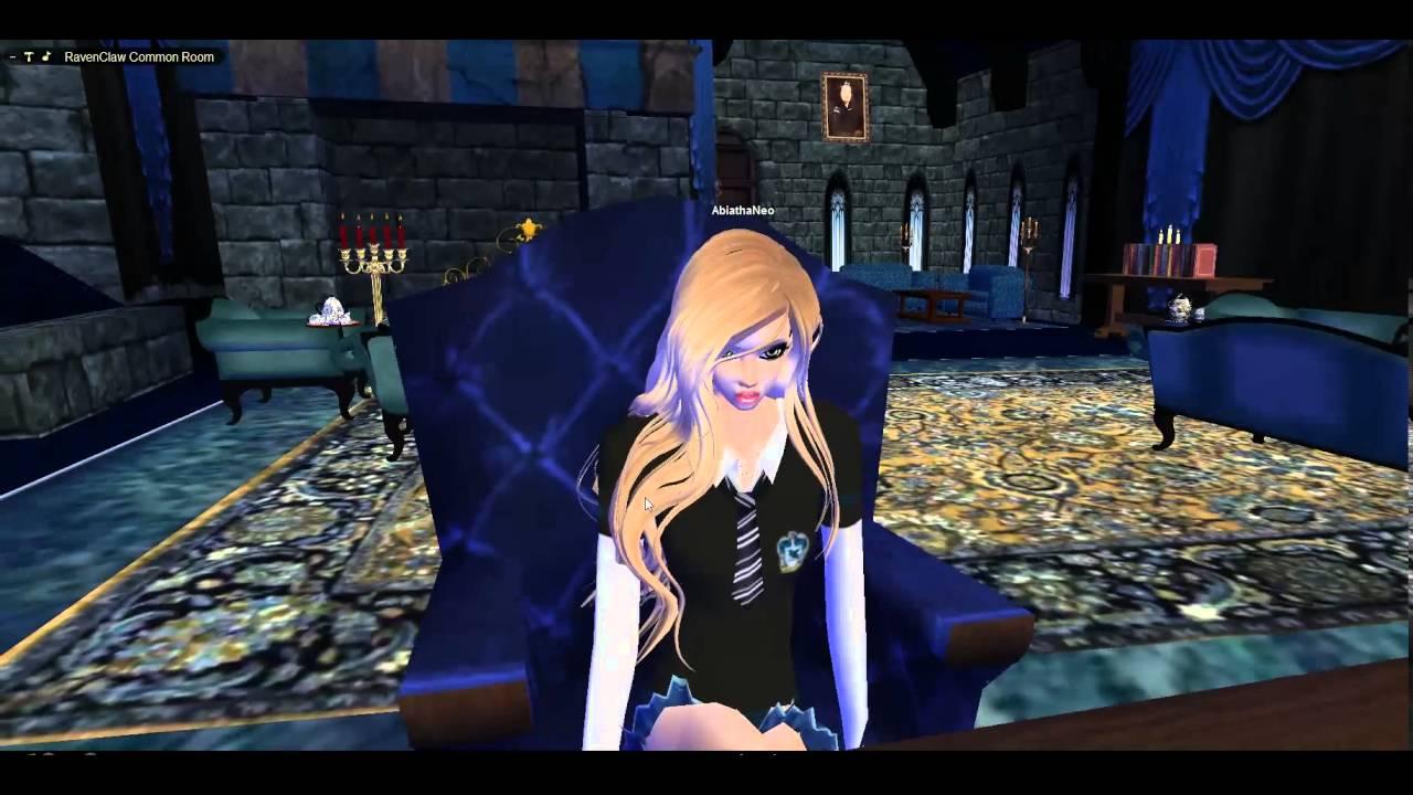 IMVU - Ravenclaw Common Room - PC - YouTube