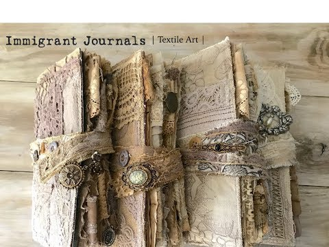 Immigrant Journals | TEXTILE ART |
