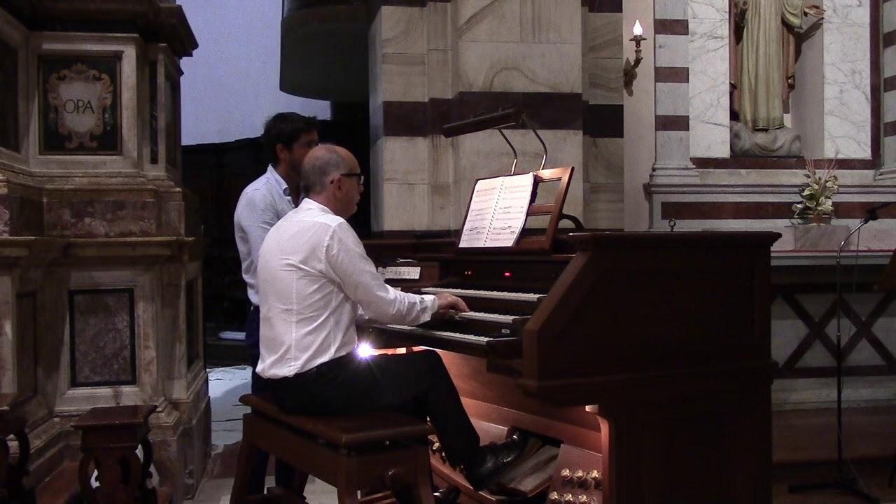 Francesco Iannitti: Improvviso - Tota Pulchra (estratti dal concerto del 4-8-2019)