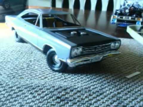 1969 Plymouth Gtx Amt Model Kit Youtube