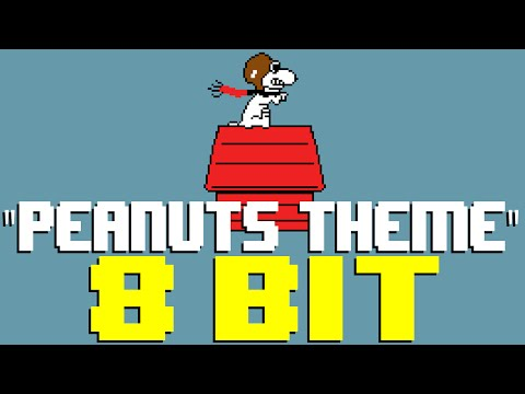 Peanuts Theme (Linus and Lucy) [8 Bit Cover Tribute to Peanuts and Vince Guaraldi]