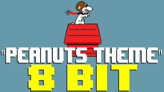 Peanuts Theme Linus and Lucy 8 Bit Cover Tribute