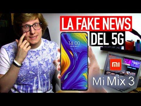 """La """"fake news"""" del 5G: il caso Xiaomi Mi Mix 3"""
