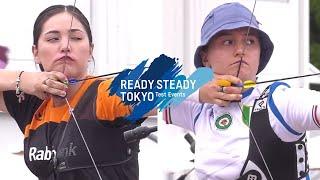 Gabriela Bayardo v Tatiana Andreoli – recurve women 2nd round | Tokyo 2020 Olympic Test