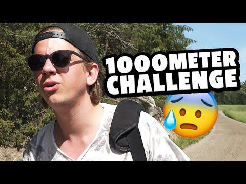 1000 METER CHALLENGE!