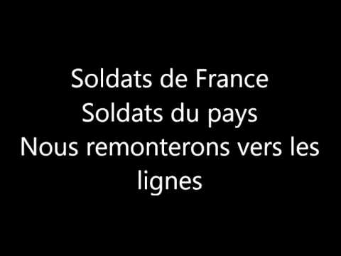 Contre les Viets - Les officiers du 1er REP en 1961 [avec paroles]