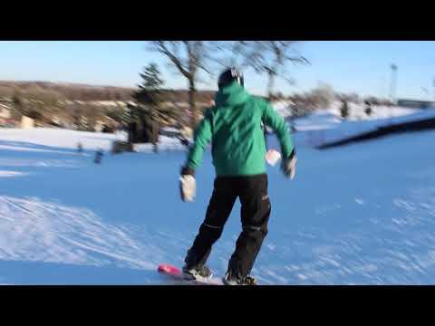 Physics snowboarding and skiing