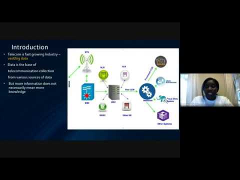Milimo Munyati: Data Mining And Warehousing In The Telecom Environment, Behind The Scenes!