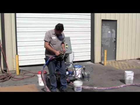 Rubber Spraying Machine