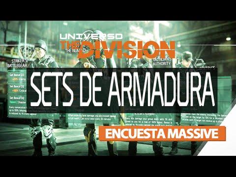 The Division   Encuesta Massive Sets de Armadura (PARTICIPA)
