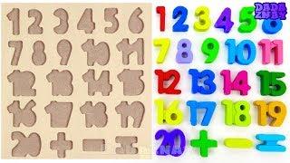 Учим цифры|Учимся считать до 20 с Конфетами M&M's| Считаем M&M's от 1 до 20|1-20