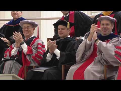 MIT Commencement Ceremony 2016