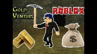 Jogando Gold Venture - ( ROBLOX )