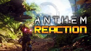 Anthem Gameplay Reaction - E3 2017 Microsoft Press Conference