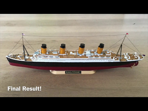 RMS Titanic Revell 1/700