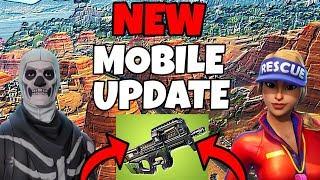 PRO FORTNITE MOBILE PLAYER // 110+ Wins // New Update // Fortnite Mobile Gameplay Tips & Tricks