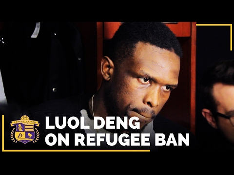 Lakers Luol Deng On Donald Trump