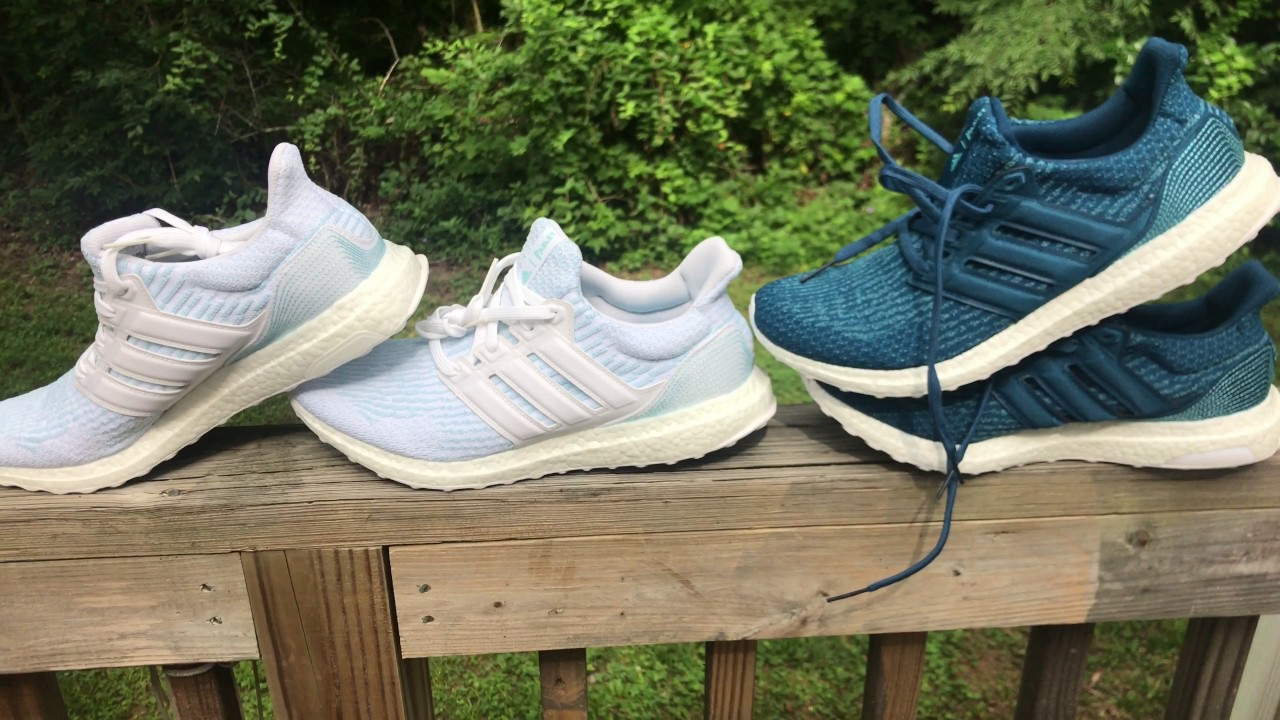 4 adidas ultraboost parley in bianco / in bianco / lcey