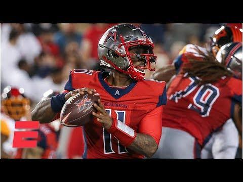 Los Angeles Wildcats vs. Houston Roughnecks | Week 1 | 2020 XFL Highlights