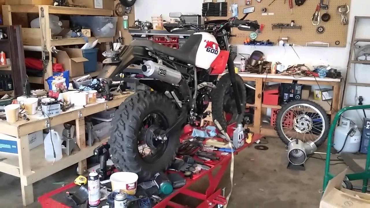 Yamaha tw200 engine swap