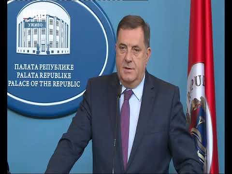 Pres konferencija Milorad Dodik i Dragan Čović