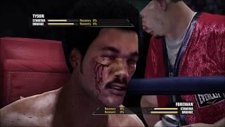 George Foreman vs Mike Tyson - Fight Night Champion Legendary Dream Watch Match