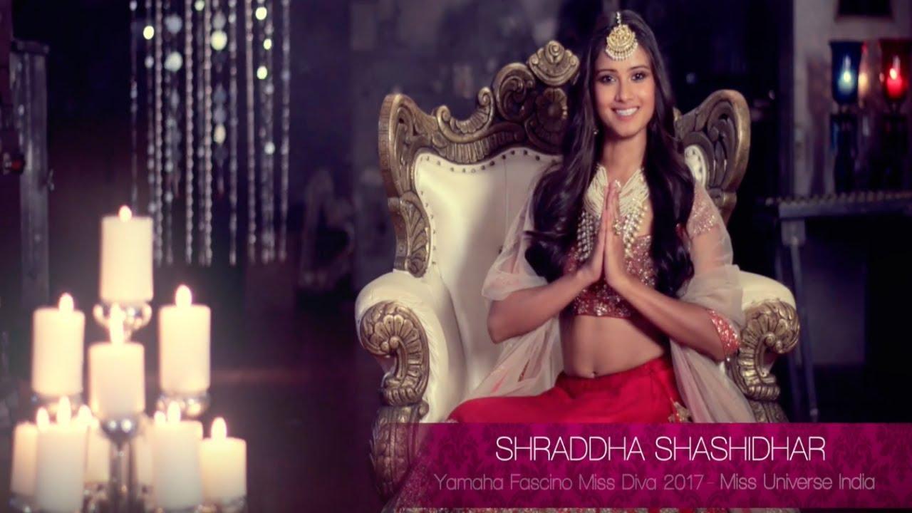 20ff923d1ae1 Shraddha Shashidhar's introduction video for Miss Universe 2017 ...