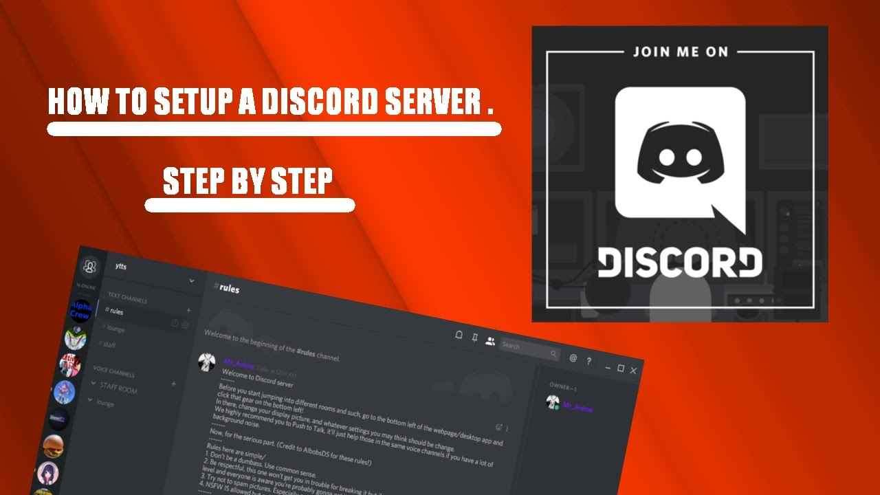 how to delete a server discord