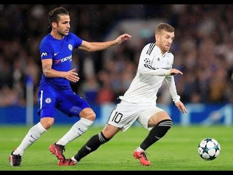 Pedro Henrique vs Chelsea (Debut for Qarabag) Away 12/09/2017 HD by Az Scout
