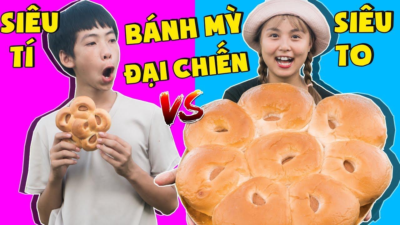 Bánh Mỳ Nhà Nghèo Vs Bánh Mỳ Nhà giàu ❤ KN CHENO Chị Hằng