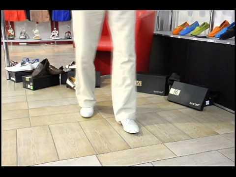 Мужские летние светлые туфли